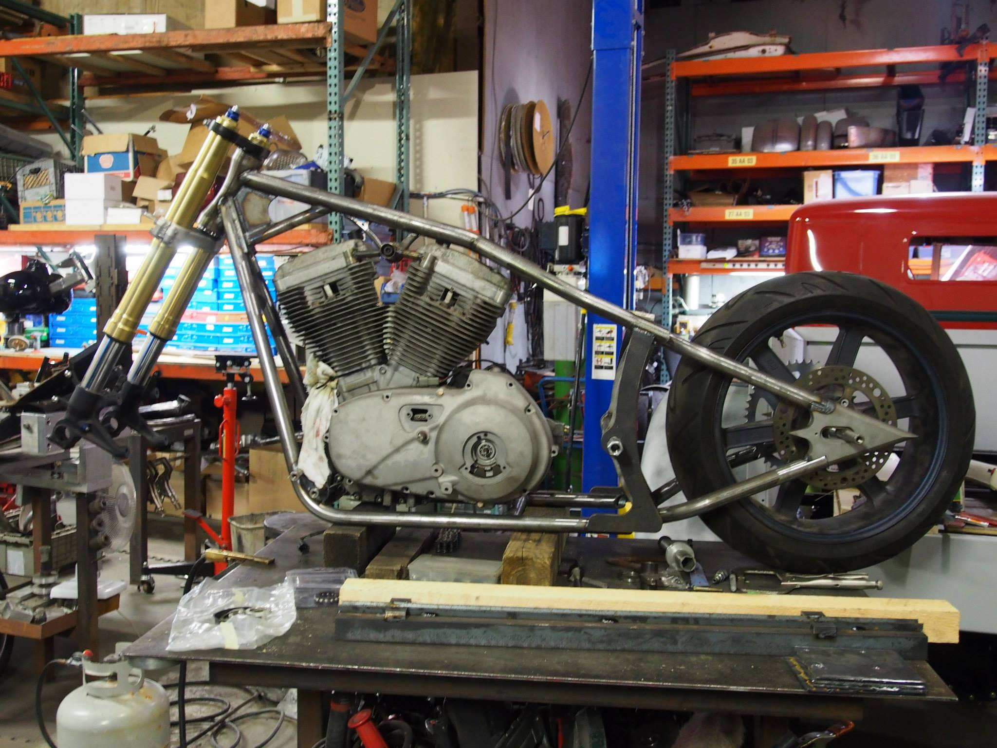 Buell XB Softail Build